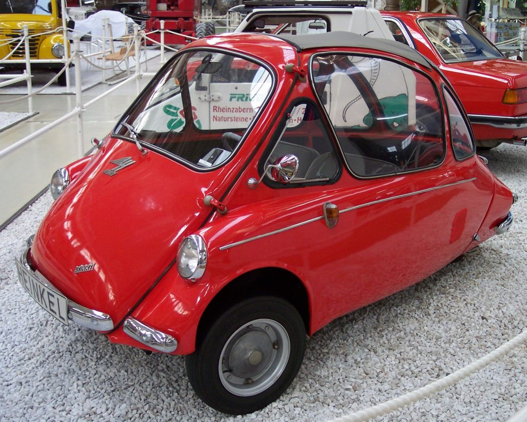 Heinkel Kabine at the Bubble Car Museum