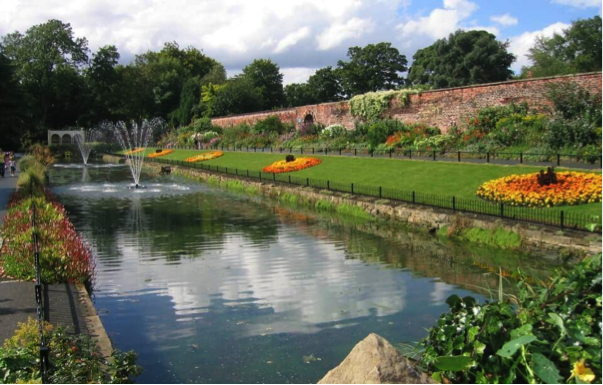 Canal Gardens and Roundhay Park