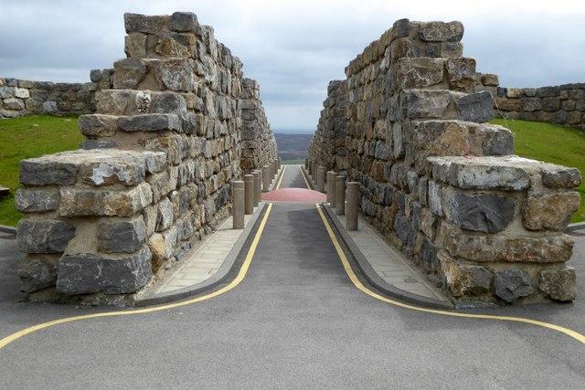 Coldstones Cut Walkway