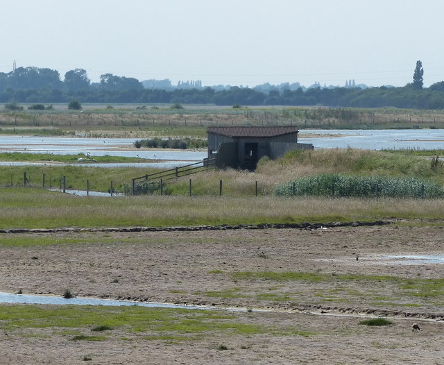 Bird Hide at Frampton Marsh