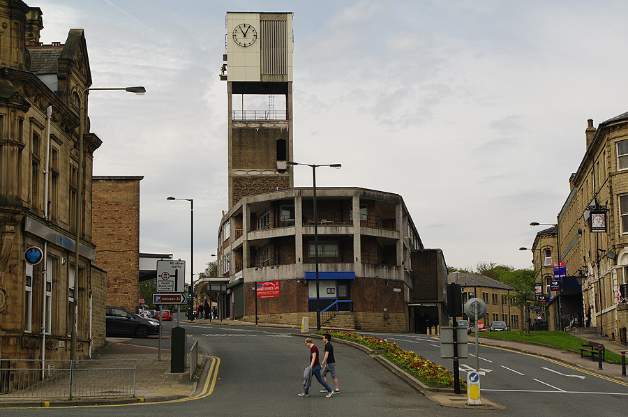 Shipley architecture - Brutalist style