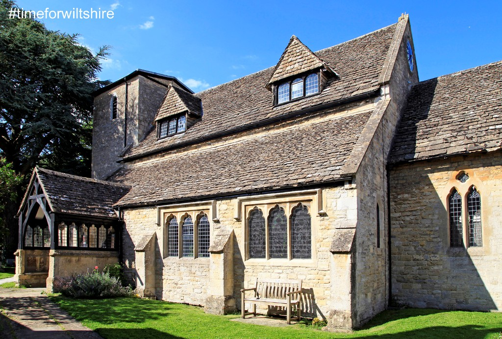 Beautiful stone St. Mary'sChurch in Cricklade