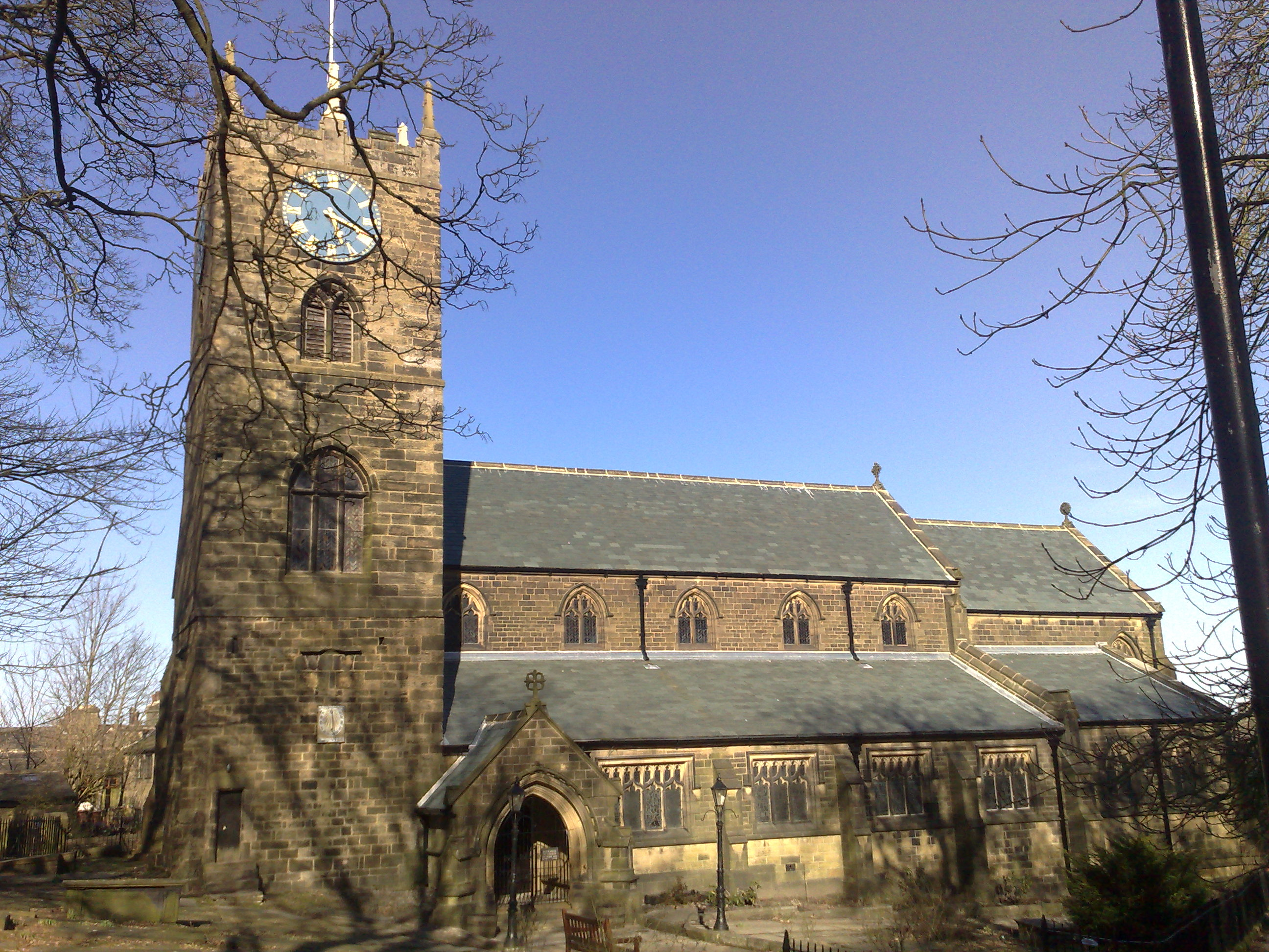 The Church at Haworth