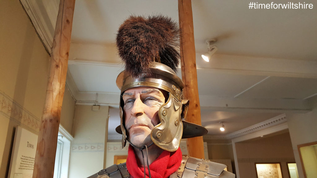 A roman soldier ©visitwiltshire.co.uk