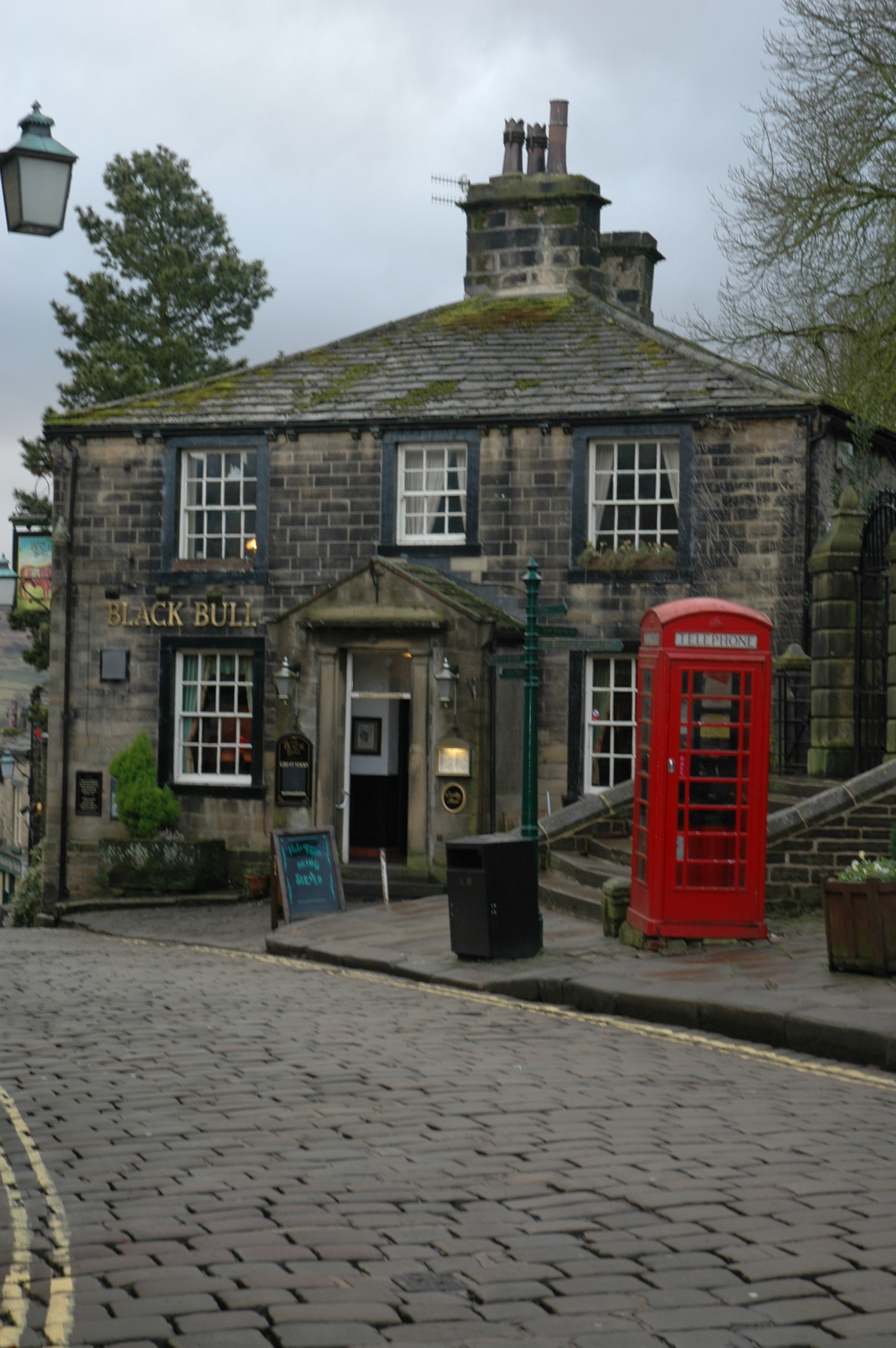 The Black bull public house Haworth