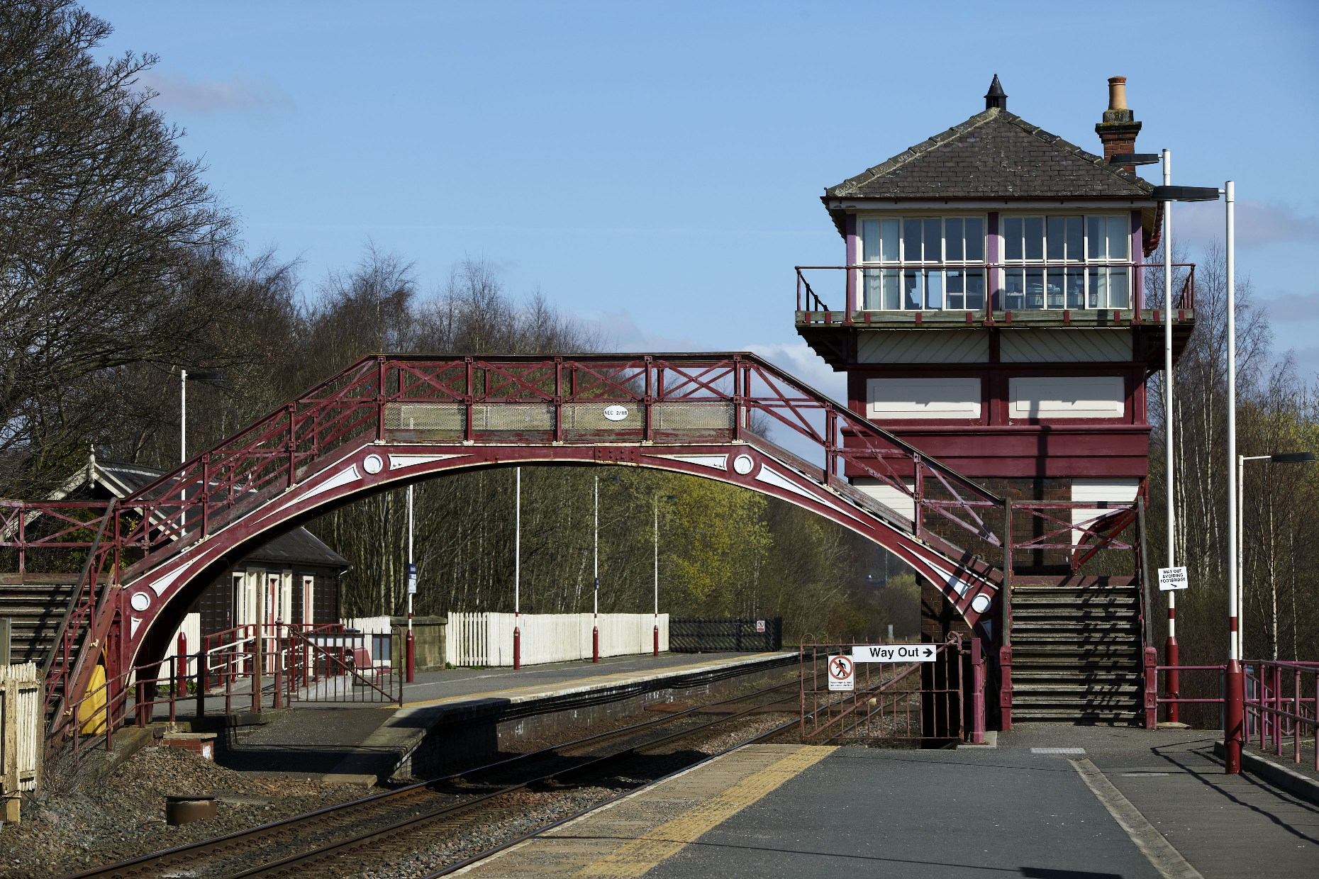 Grade II listed Footbridge at Haltwhistle_ ©www.visitnorthumberland.com