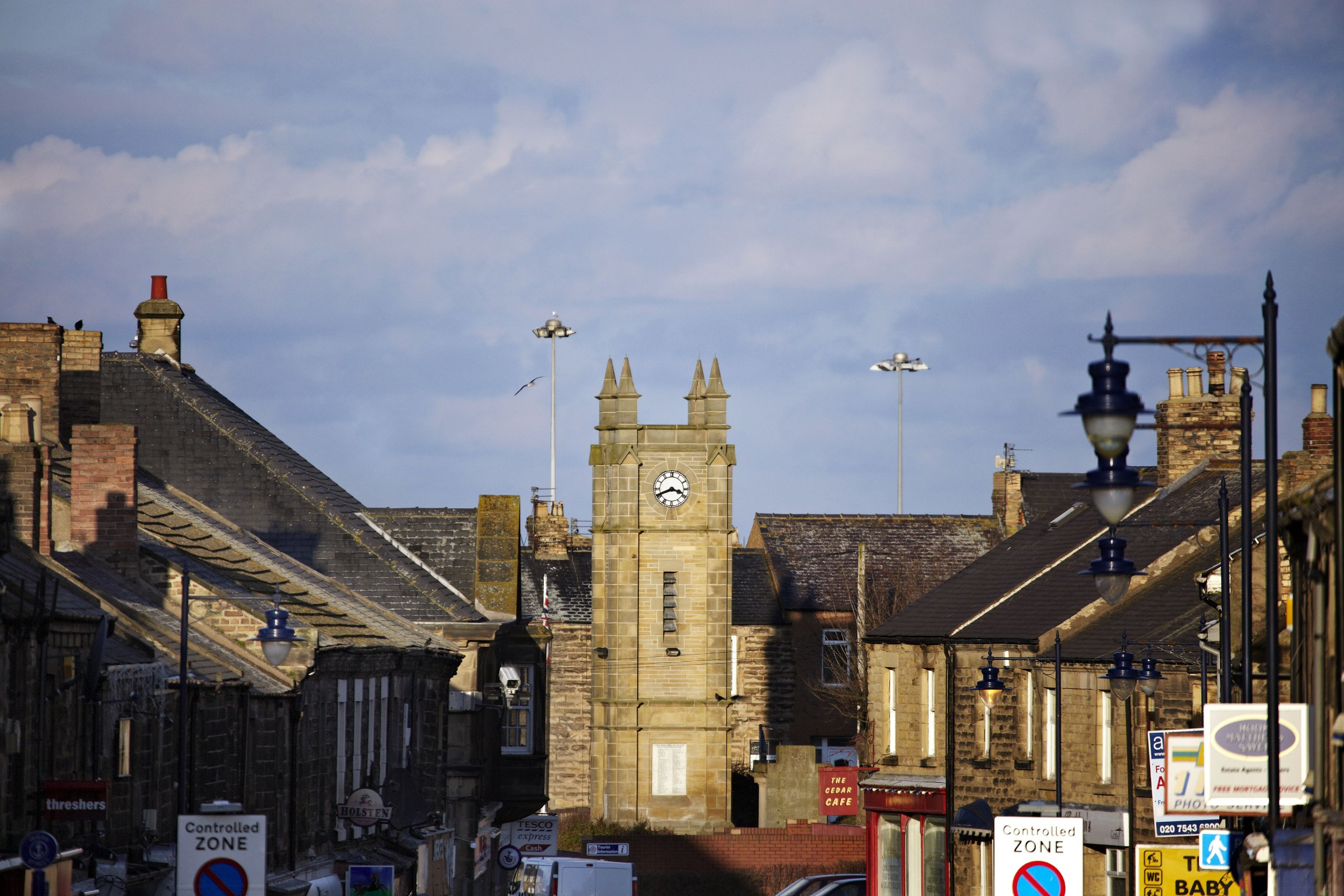 Amble clock Tower, Northumberland