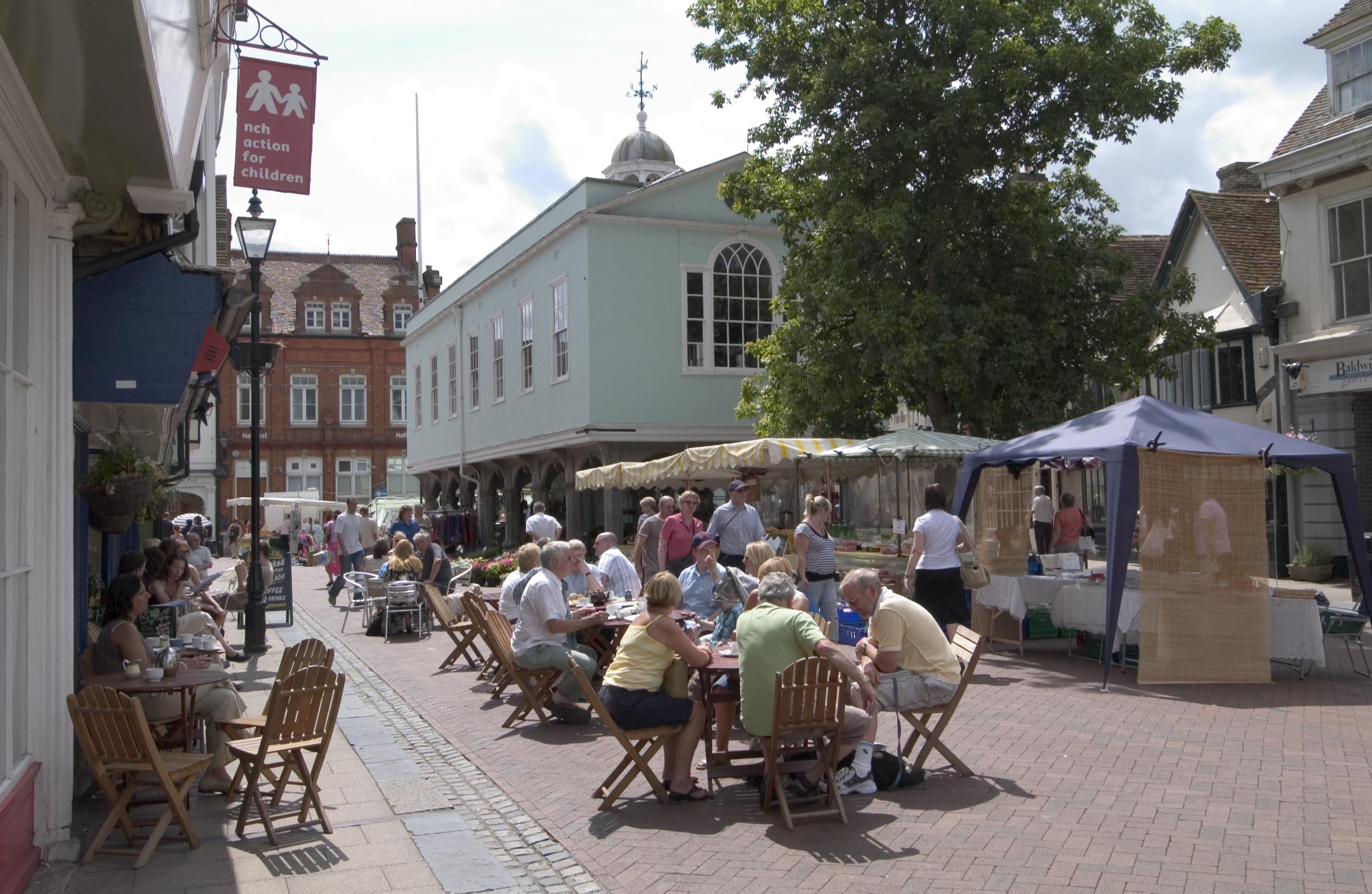Faversham Market Place © Visit Kent