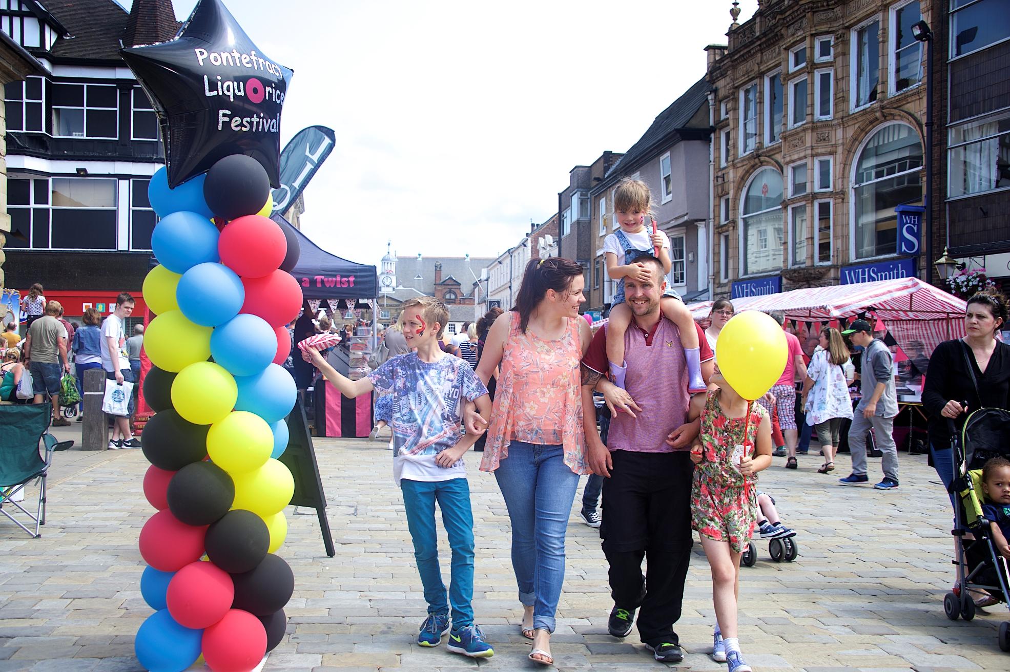 Pontefract Liquorice Festival © Wakefield Council
