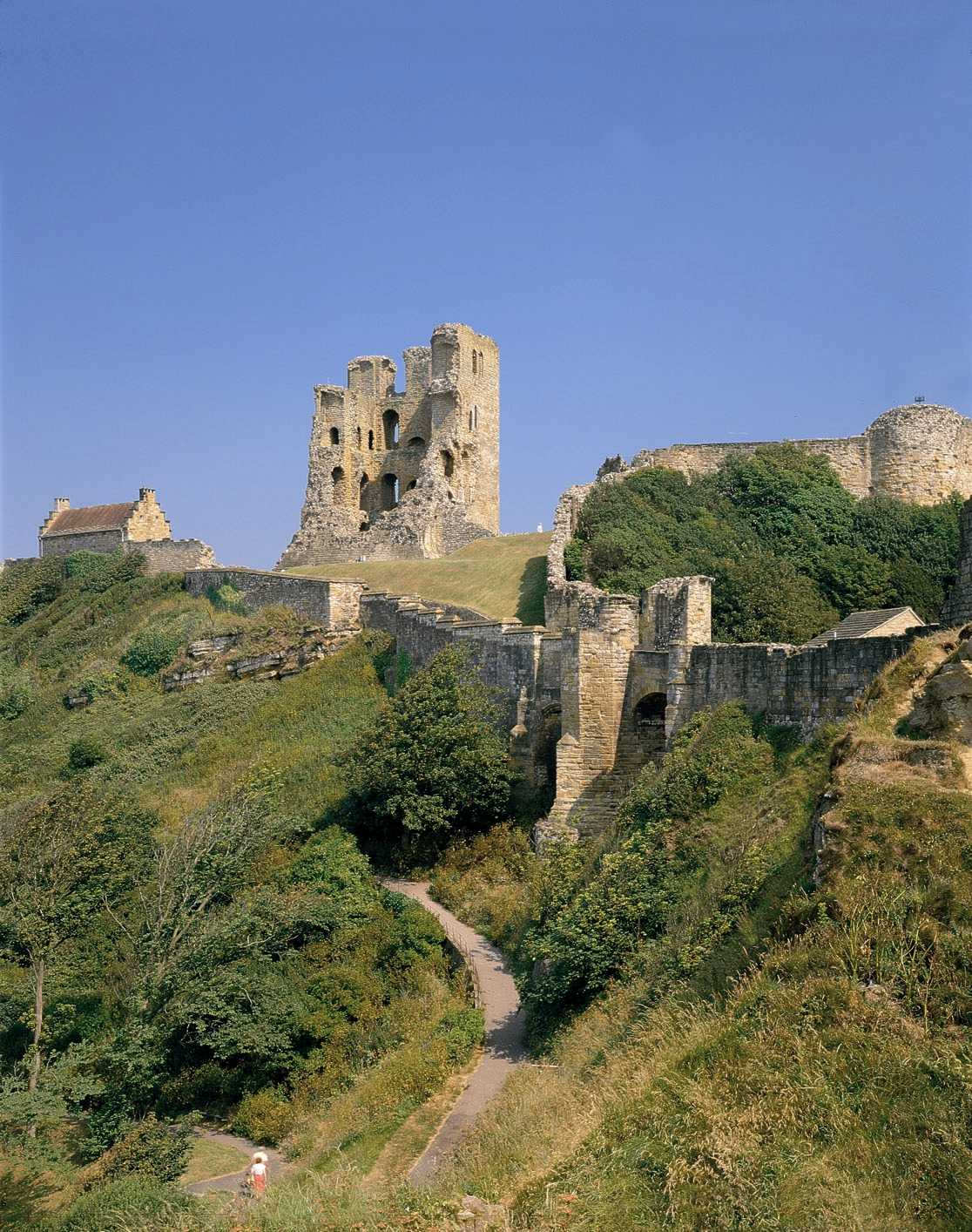 Scarborough Castle © Welcome to Yorkshire