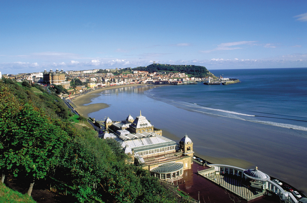 Scarborough and bay © Welcome to Yorkshire