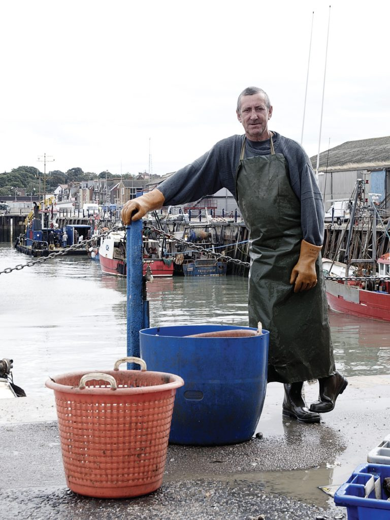 Whitstable Oyster Man © Visit Kent