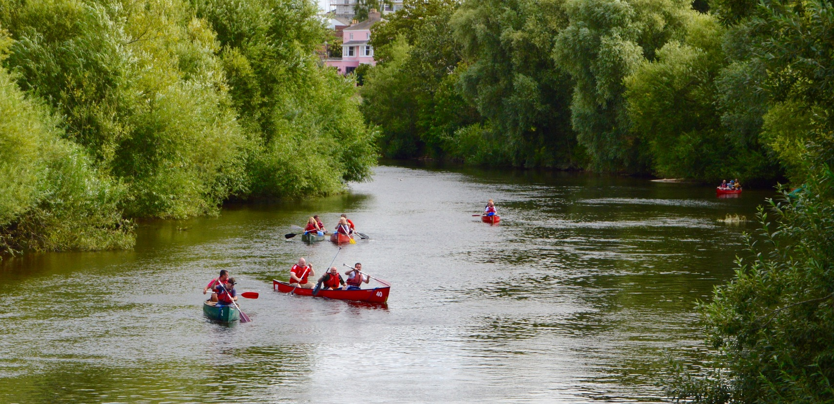 Canoeing on the Wye © Ross-on-Wye Town Council