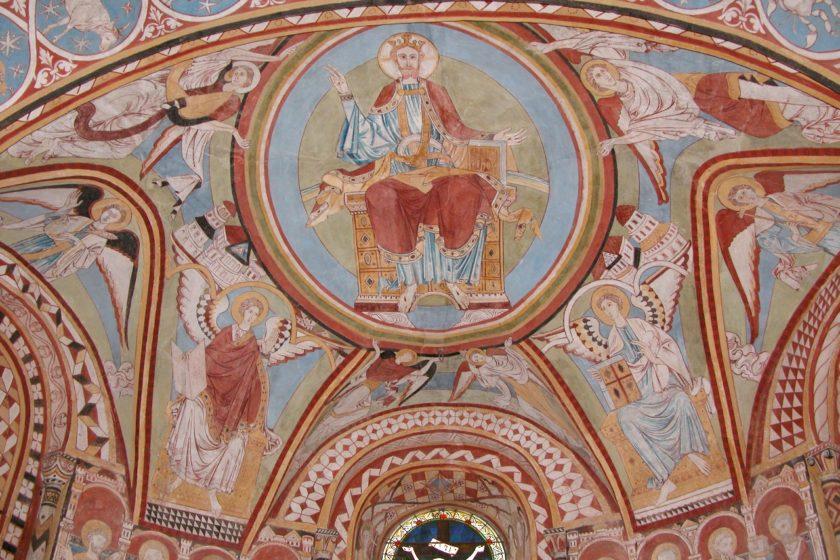 Copford Church fresco © visitessex.com