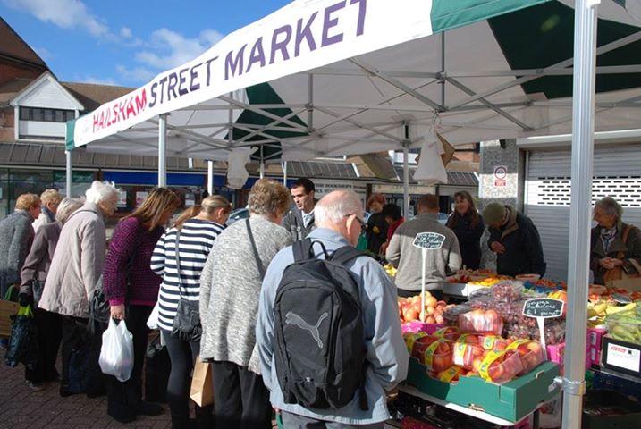Hailsham Street Market © Hailsham Town Council
