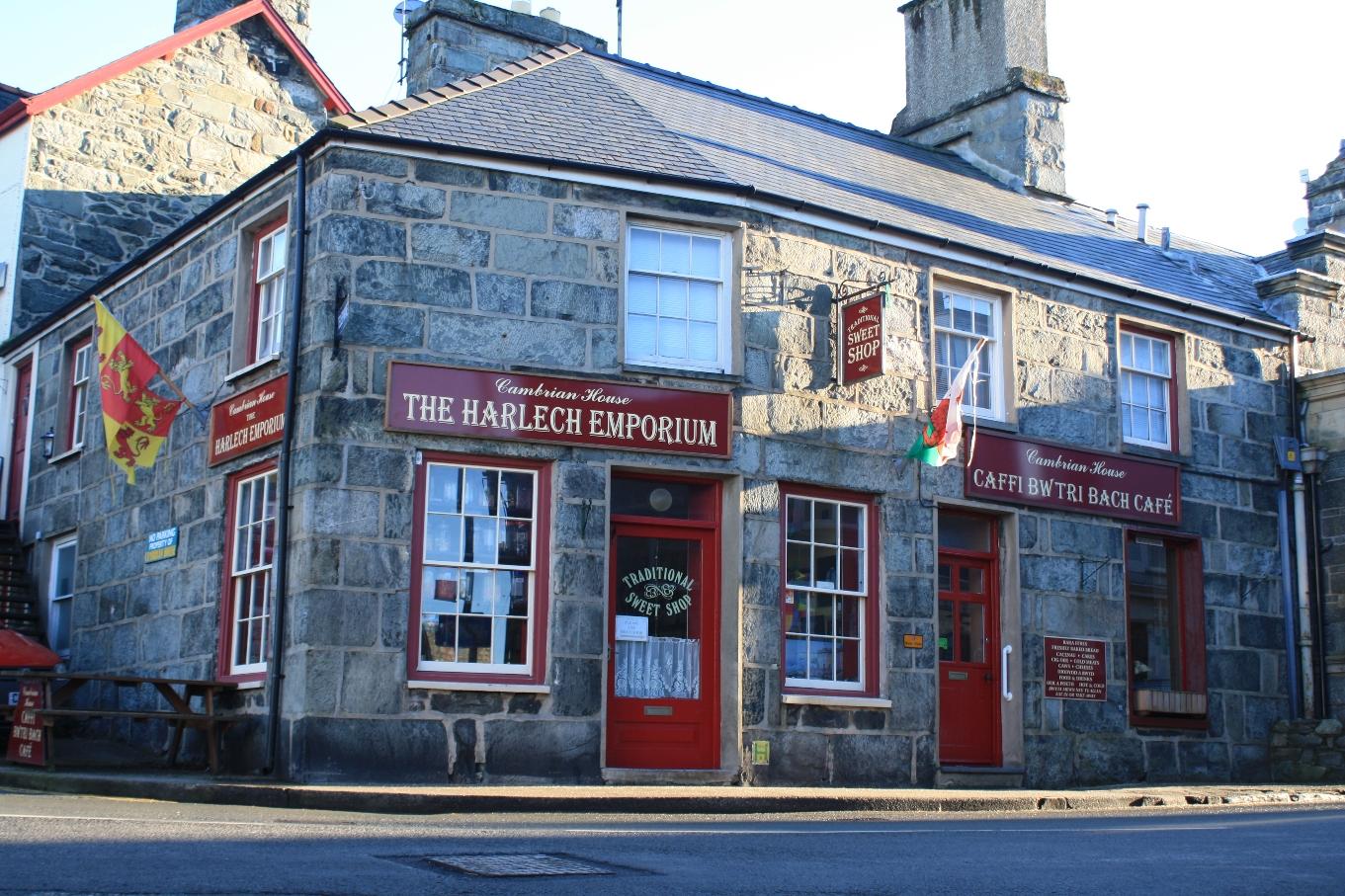 Harlech Chwefror © Gwynedd Council