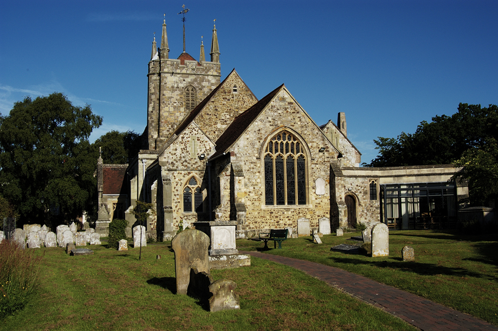 Heritage Trail - Hailsham Parish Church © Hailsham Town Council