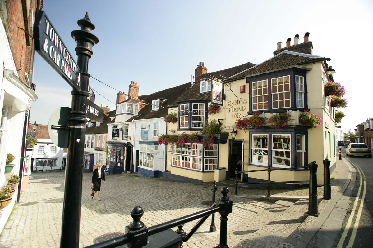 Kings Head Lymington © New Forest Destination Partnership