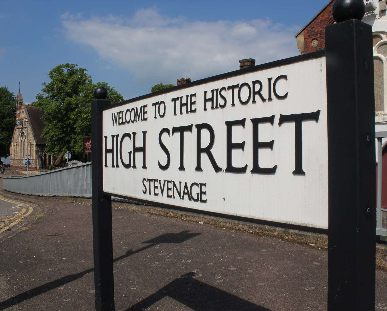 Old Town High Street © Stevenage Borough Council