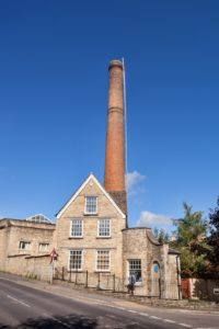 Witney mill chimney © The Cotswolds