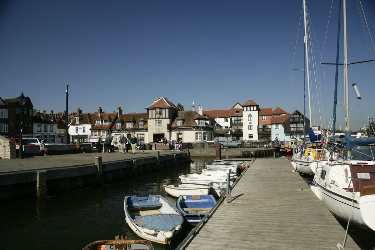 harbour at Lymington © New Forest Destination Partnership