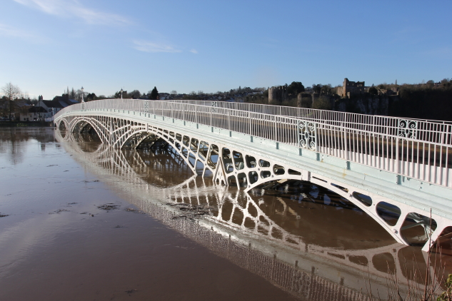 Chepstow's 1816 Bridge © John Burrows