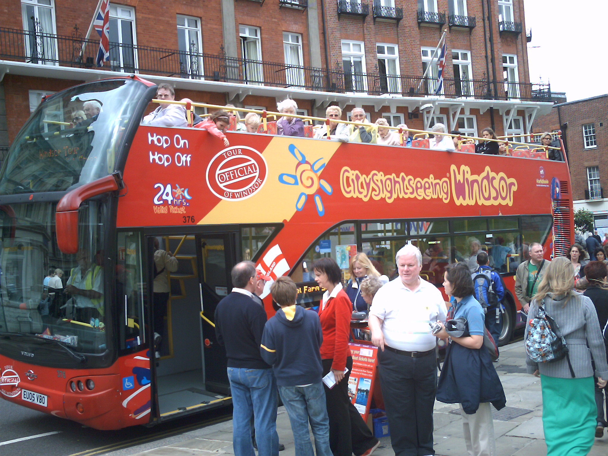 City Sightseeing © windsor.gov.uk