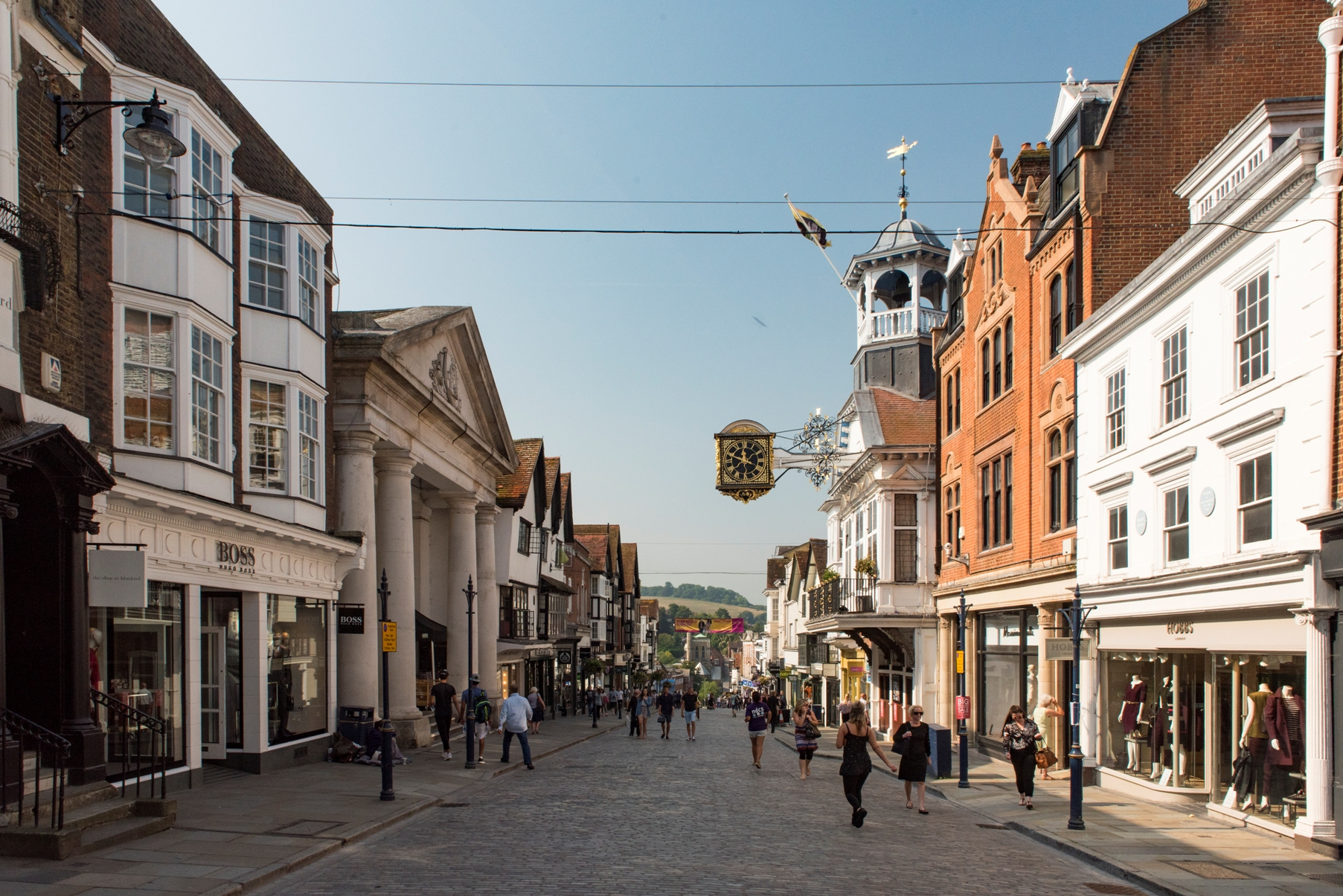 Historic Guildford in the centre of Surrey has ...
