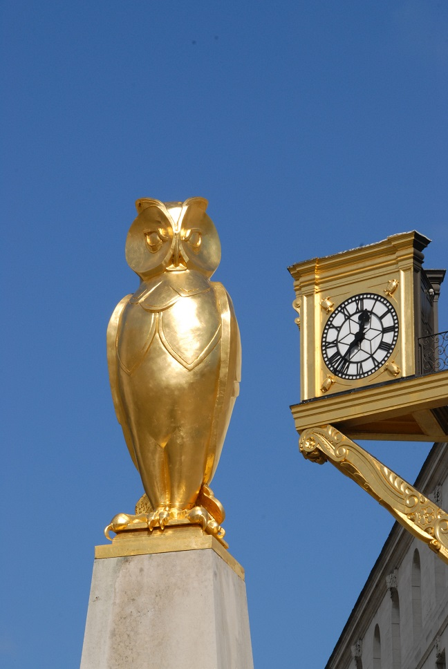 Golden Owl © Leeds City Council