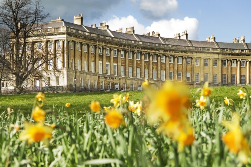 Royal Crescent, Bath © visitbath.co.uk