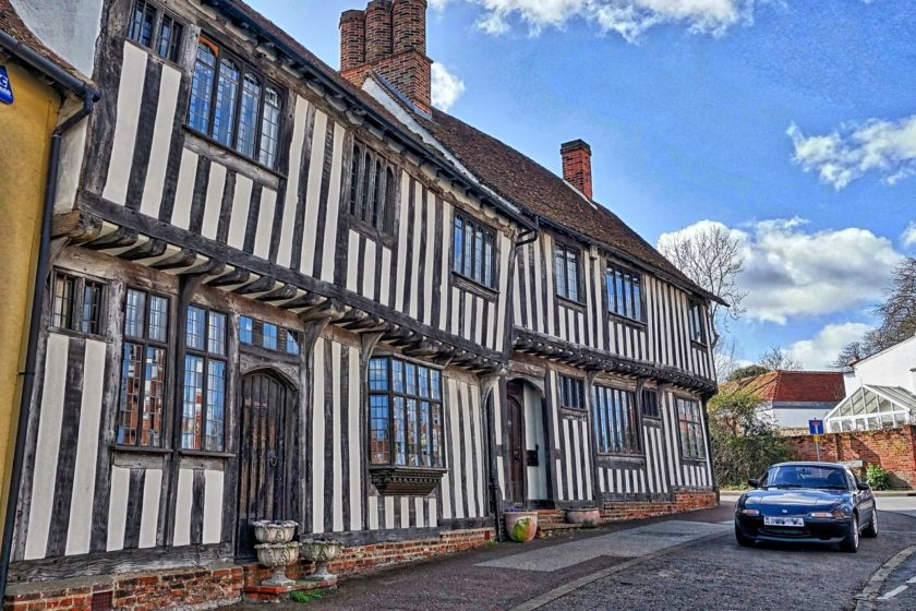 Lavenham Suffolk by MemoryCatcher on Pixabay