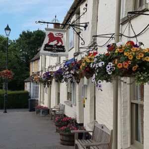 The Red lion at Cricklade