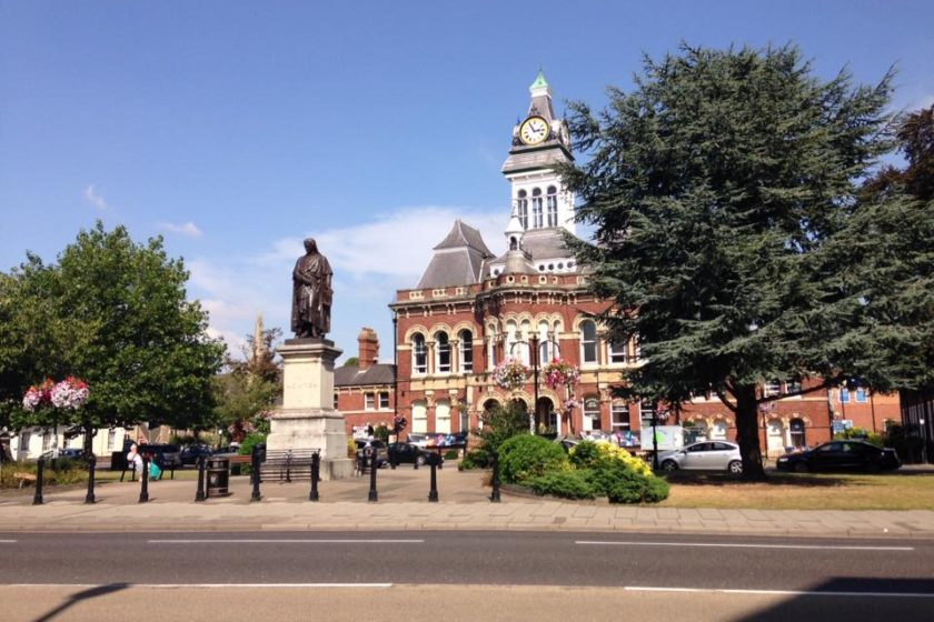 Guildhall and Newton © Ruth Crook – Grantham Civic Society