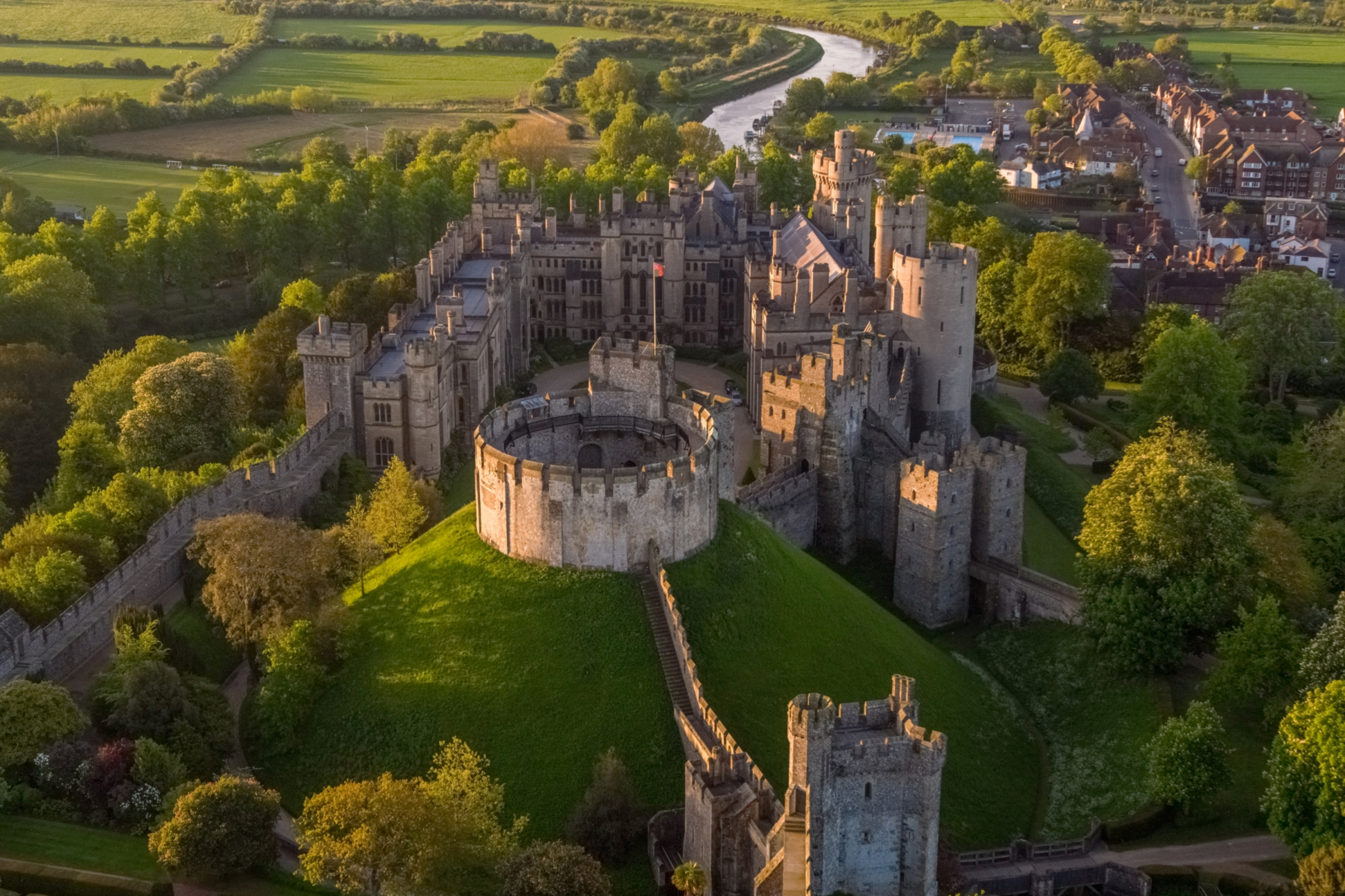 Arundel Castle © Visual Air