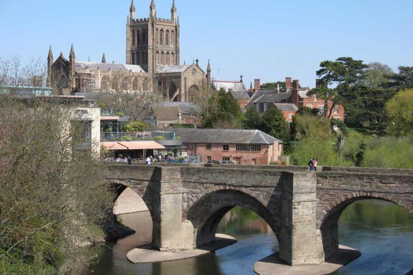 Wye Bridge © Herefordshire and Worcestershire Chamber of Commerce