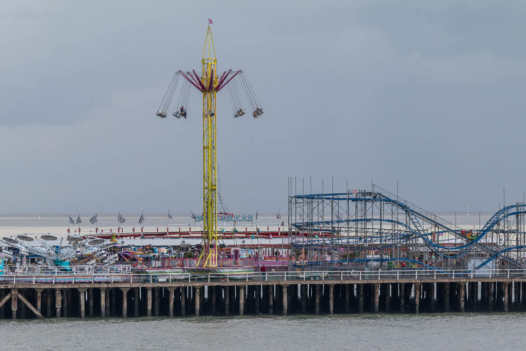 Exciting fair ground rides at Clacton by Christine Matthews on Geograph