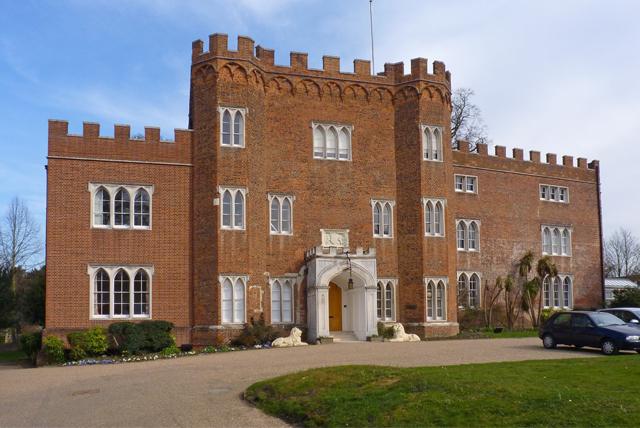 Hertford Castle gatehouse by Myke Smith