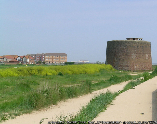 Martello Tower by Steven Muster on geograph