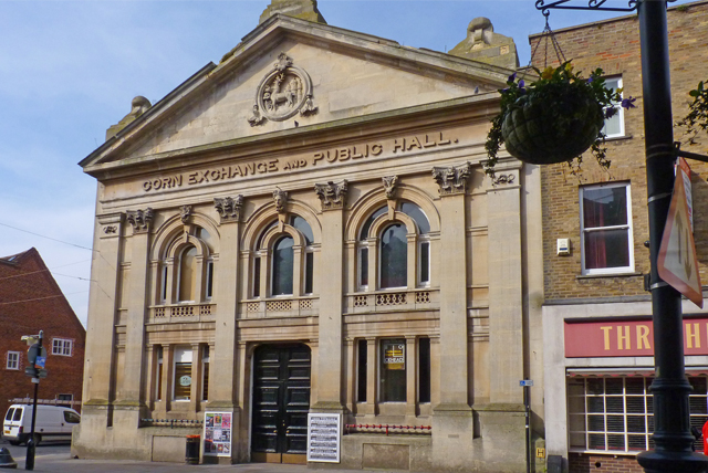 The Corn Exchange by Mike Smith on geograph