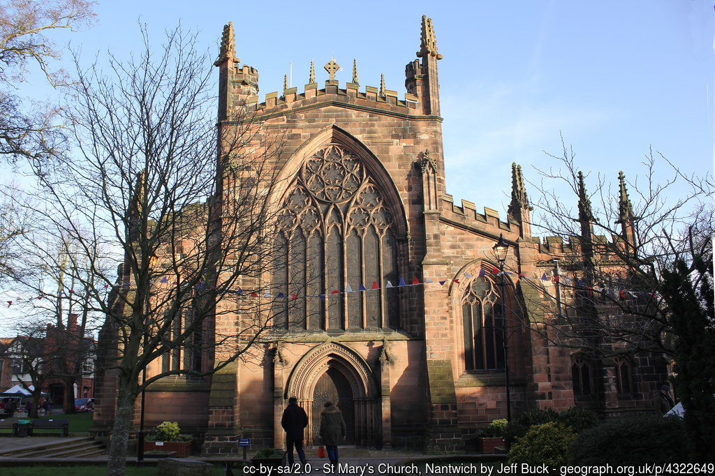 Nantwich Cathedral - the Cathedral of cheshire