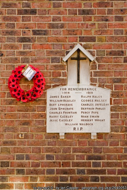 Sopwell Lane memorial St Albans by Ian-Capper