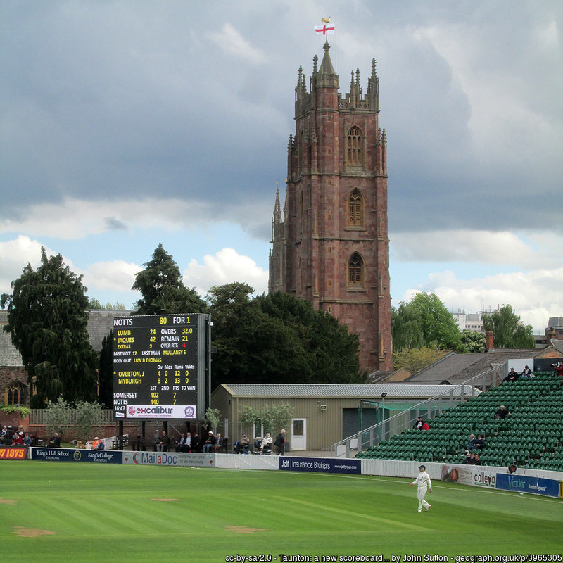 Somerset cricket ground, Taunton