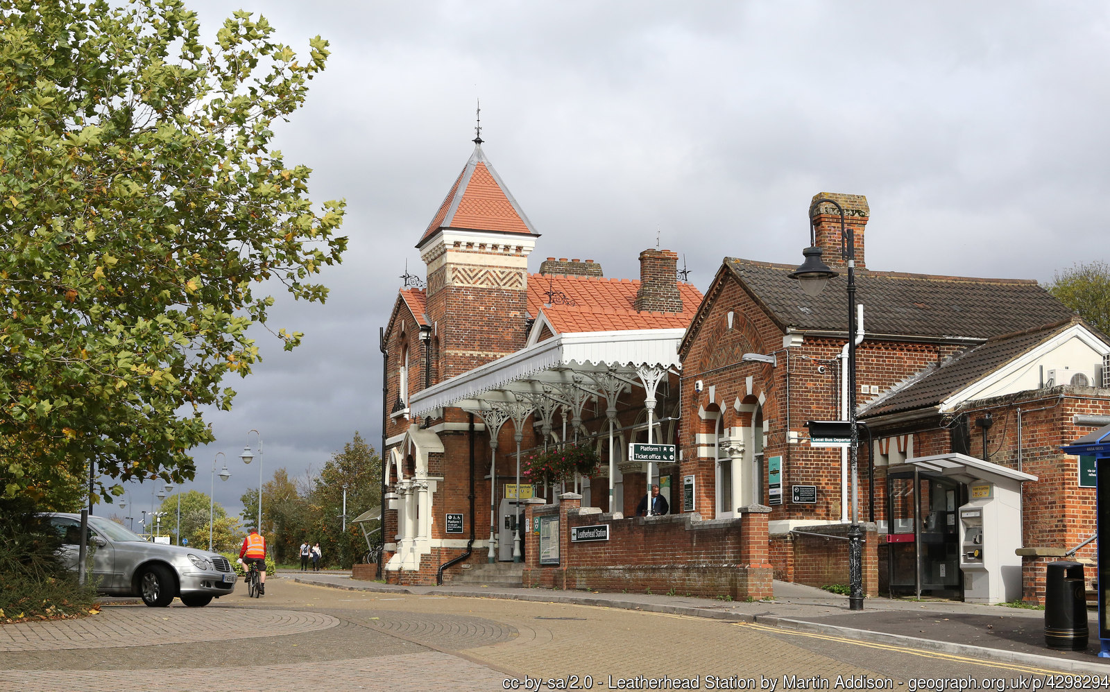 Leatherhead station
