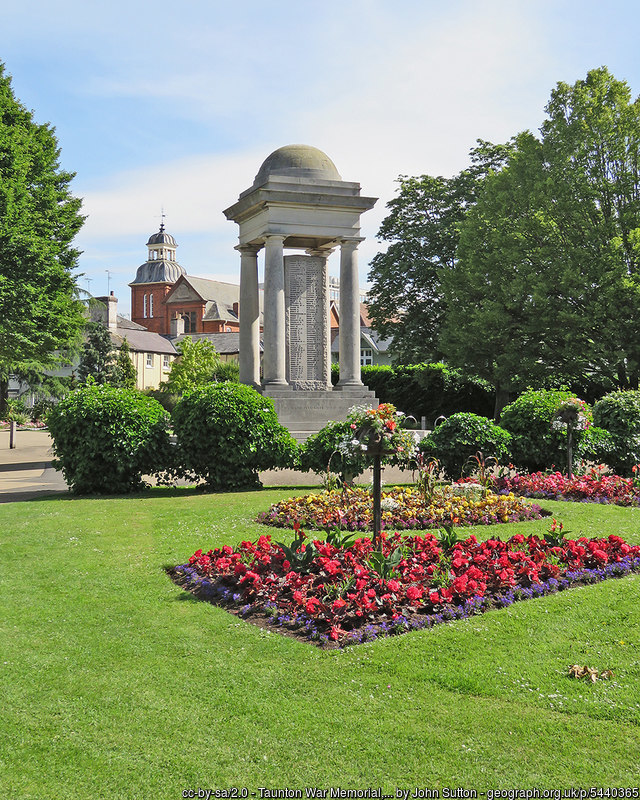 War memorial and gardens, Taunton