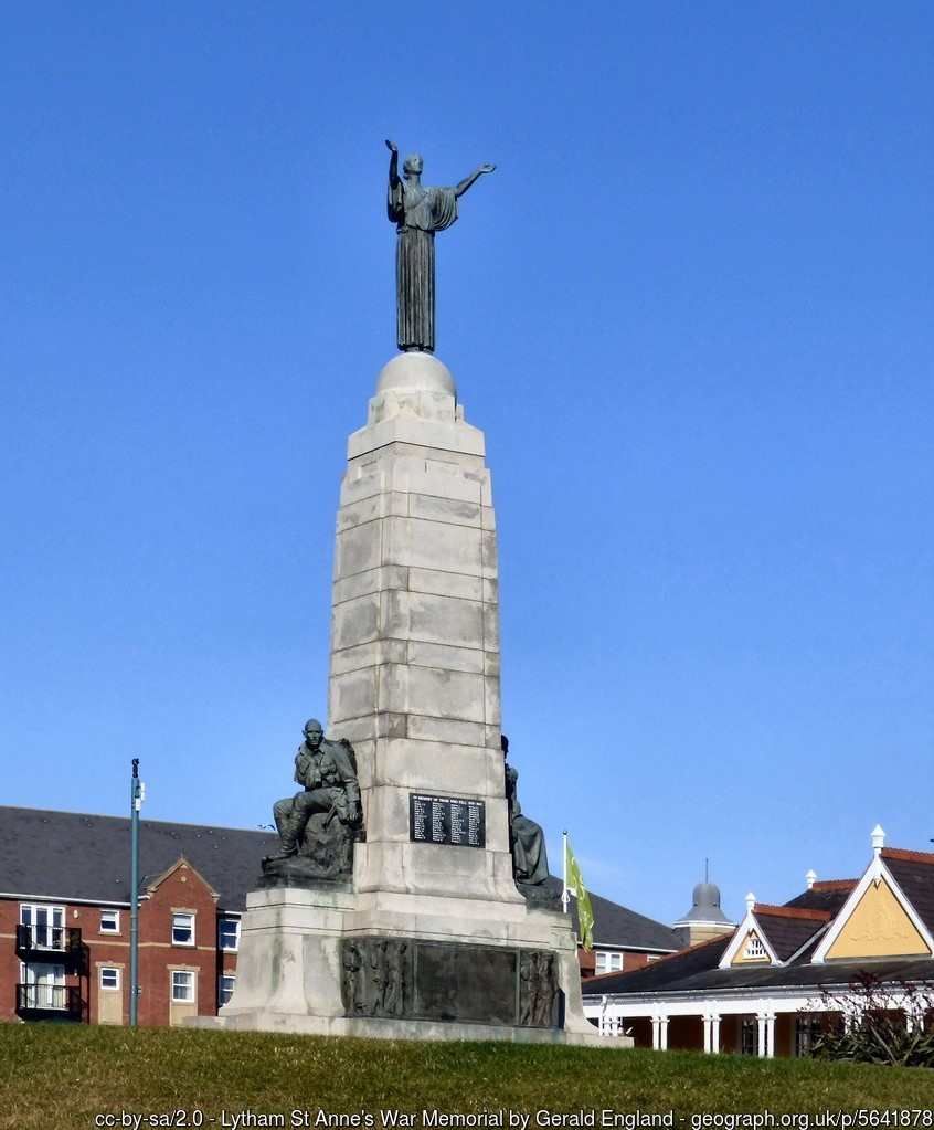 Lytham War Memorial by Gerald England