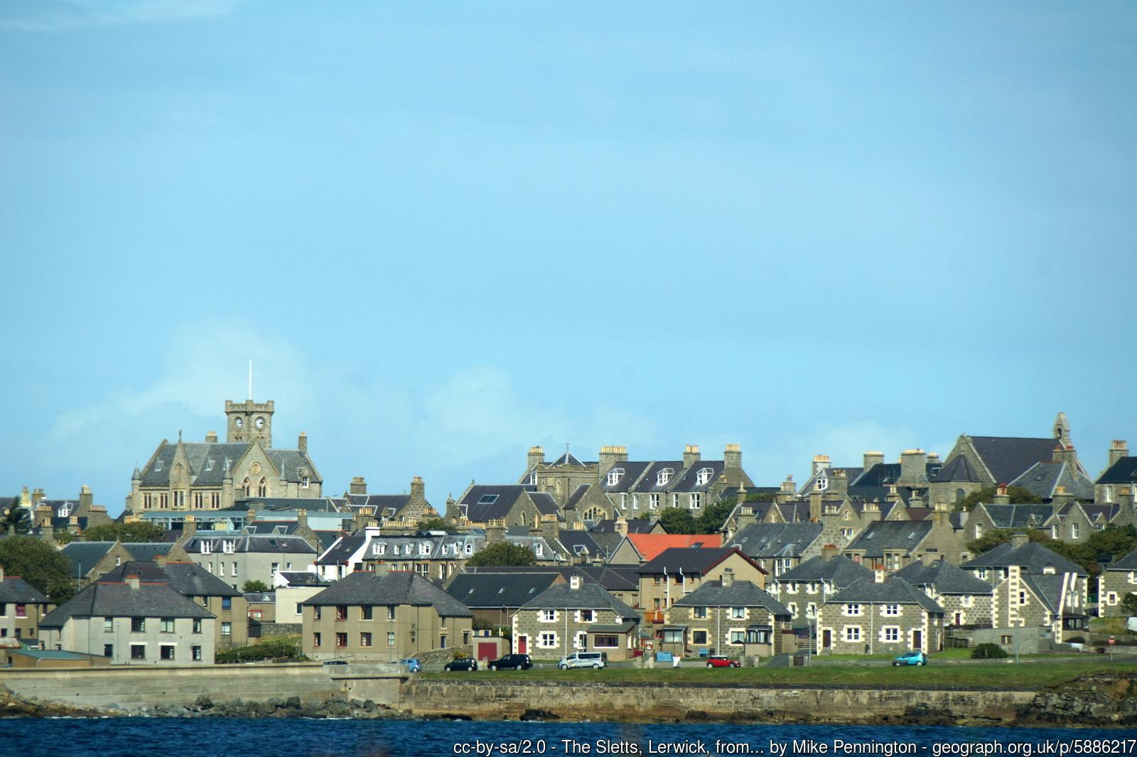 The Sletts, Lerwick, Shetland.