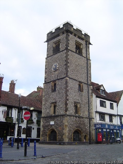 imposing medieval Clock Tower