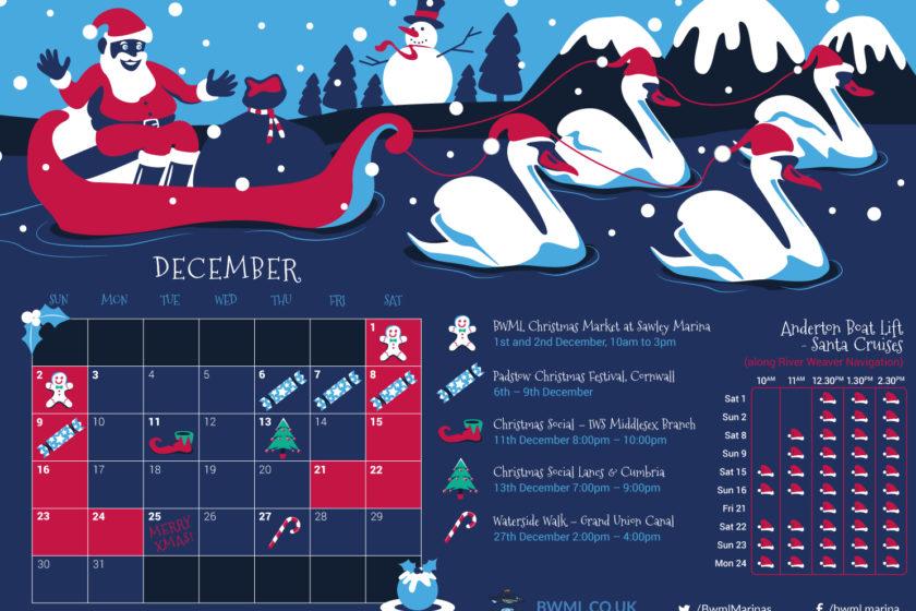 BWML Christmas Festival poster