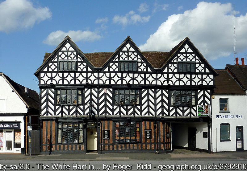 The White Hart Penkridge Staffordshire by Roger--Kidd