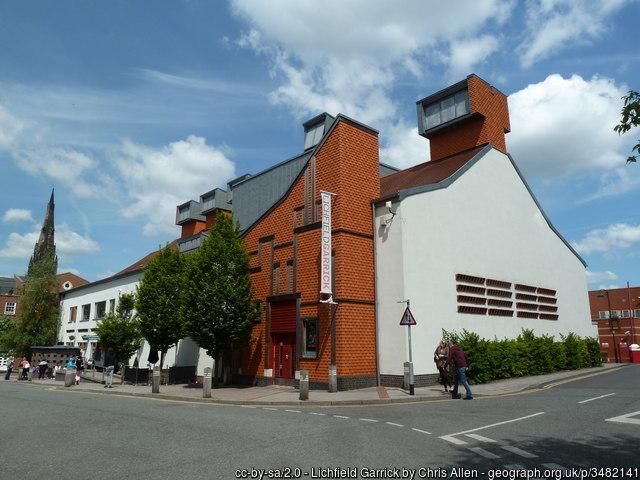Lichfield Garrick theatre by Chris-Allen